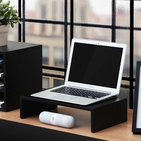 历史新低!FITUEYES DT104201WB 16.7英寸 笔记本电脑/显示器 增高底座2折 17.99加元!