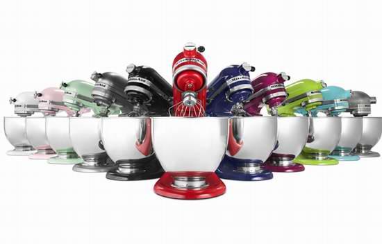 KitchenAid 厨宝 KSM150 Artisan 名厨系列5夸脱多功能厨师机 349.99加元包邮!多色可选!粉红也打折了!