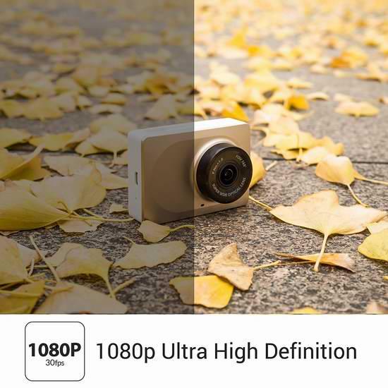 Xiaomi 小米 Yi 小蚁 智能超广角行车记录仪 59.99加元包邮!