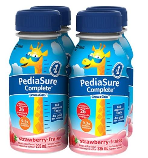 帮助孩子增高增重!精选雅培Pediasure 小安素奶制品 7.59加元起特卖!多种口味可选!