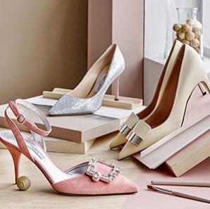 精选  Valentino铆钉鞋、Sergio Rossi美鞋、️Prada方扣水晶鞋 2.8折 248.54加元起特卖!