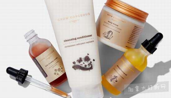 英国头发护理专家!Grow Gorgeous护发、生发素 9折优惠!