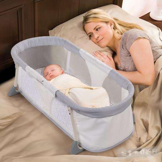 史低价!Summer Infant 宝宝移动便携可折叠旅行床 39.87加元,原价 69.99加元,包邮