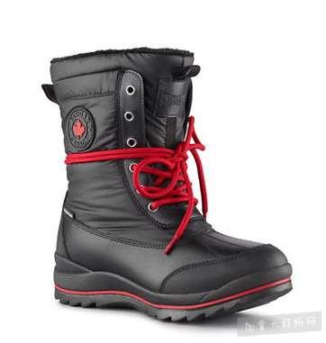 Cougar女款防水雪地靴 80加元,原价 160加元