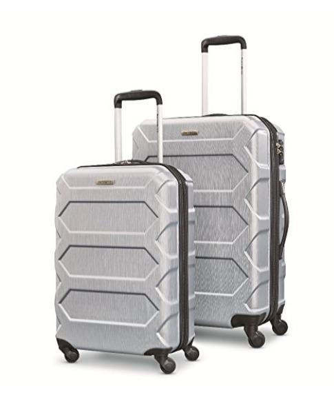 Samsonite 新秀丽 Magnitude Lx 20/24寸 硬壳轻质 拉杆行李箱 银色款 152.28加元,原价 559.99加元,包邮