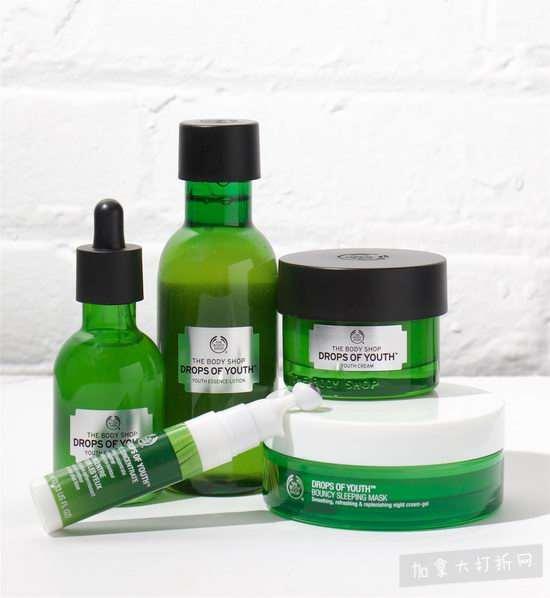 精选8款 The Body Shop 植物干细胞活肌系列护肤品 6折 20加元起特卖!内有单品介绍!