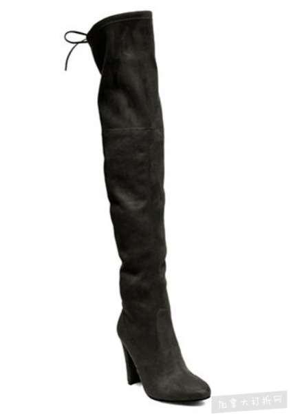 Steve Madden 长款麂皮过膝靴 60加元(5、5.5码 ),原价 150加元