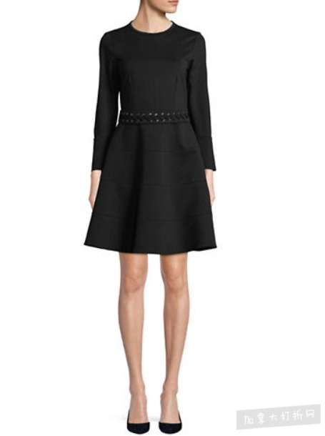 Marella Macao 长袖修身连衣裙 133.5加元,原价 445加元,包邮