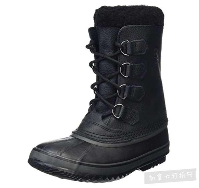 Sorel 1964 Pac T男士雪地靴 黑色款 98.13加元,原价 180加元,包邮