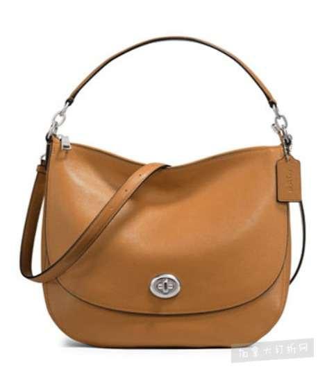 COACH Turnlock Hobo 女款手提/单肩包 186.75加元,原价 415加元,包邮