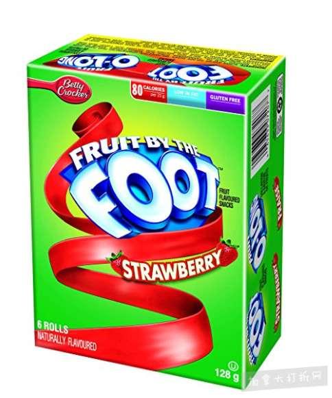 Betty Crocker Fruit 水果卷6个装 1.59加元特卖!多种口味可选!