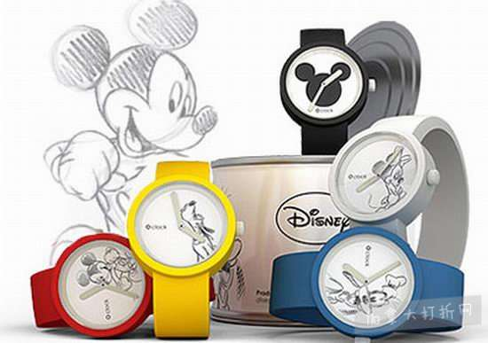 精选 Disney 卡通手表 2.5折 7加元起特卖!
