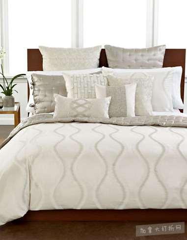 精选55款 HOTEL COLLECTION床上用品、靠背、毛巾 4折 +额外8.5折,折后低至5.73加元起特卖!