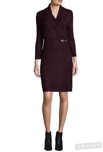 精选 119款 Calvin Klein 连衣裙 2.1折 37.49加元起特卖!