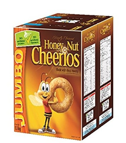 Cheerios 全天然五谷全麦麦圈圈 7.57加元(1.3公斤),原价 9.49加元