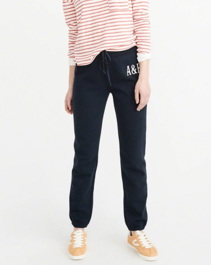 Abercrombie & Fitch精选女款裙装 38加元+休闲运动裤28加元+特卖区额外6折优惠!