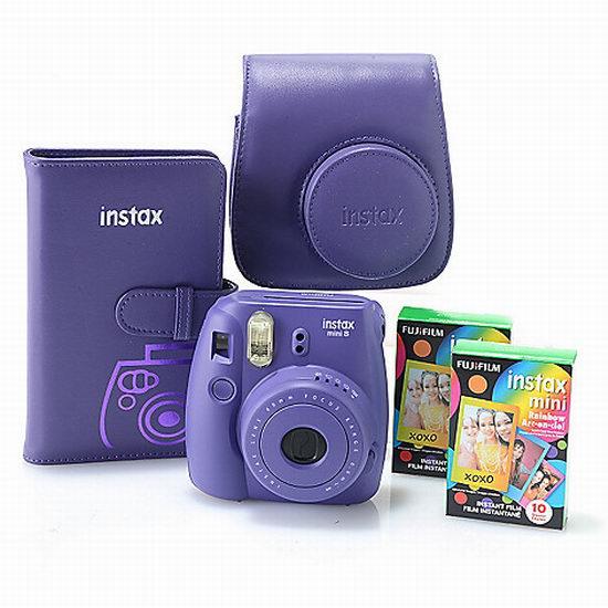 Fujifilm 富士 Instax Mini 8 梦幻白 拍立得相机 67.99加元限量特卖+包邮!