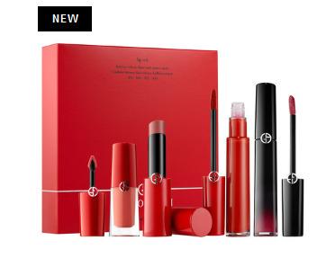 Giorgio Armani Beauty 唇膏+唇釉超值套装 125加元+送13件豪华中样大礼包!