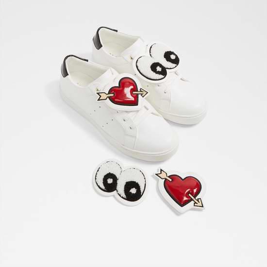 Aldo Chilabeth 超可爱一见钟情小白鞋 37.5加元,原价 75加元