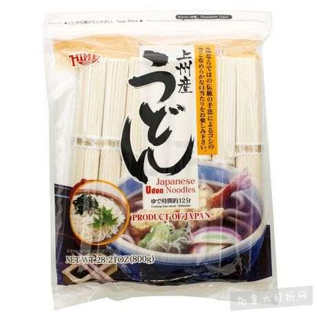 历史最低价!Hime 上州产 日本乌冬面(800克) 5.59加元!