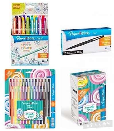 金盒头条:精选6款 Paper Mate 彩色凝胶笔、马克笔4折起!售价低至9.99加元!