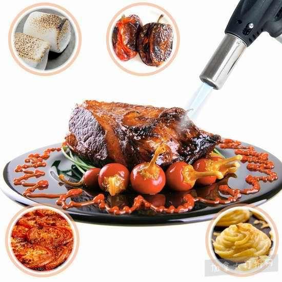 白菜价!历史新低!Gourmia GGL9910 多用途西餐烹饪火枪/脱毛器/烧烤点火器2.2折 13.99加元清仓!
