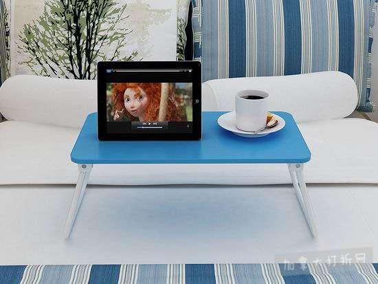 销量冠军!超划算 Homebi 可折叠笔记本电脑桌/床上托架/早餐桌5.3折 13.99-15.99加元!两色可选!