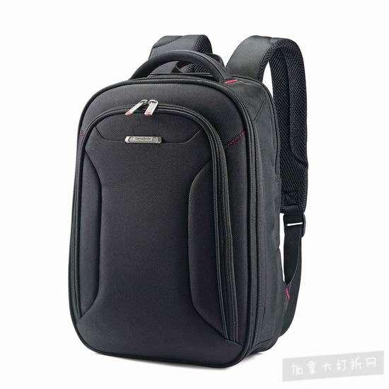 历史新低!Samsonite 新秀丽 Xenon 3 13.3寸 笔记本电脑 双肩背包6.1折 49.2加元包邮!