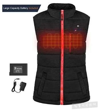 历史新低!OUTCOOL 充电式 电热保暖夹克/背心6.3折 125.99加元包邮!男女两款可选!