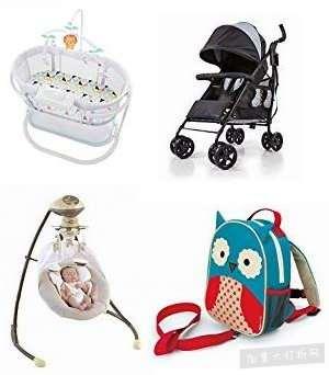 金盒头条:精选30款 Skip Hop、Fisher-Price、Summer Infant 品牌婴儿摇篮、跳跳乐、婴儿推车、吸奶器、妈咪包、婴儿背包等6.5折起!