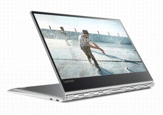 新春特惠:Lenovo 联想 Yoga 910 13.9寸触摸屏变形笔记本电脑(8GB/256GB SSD)6折 1019.25加元包邮!