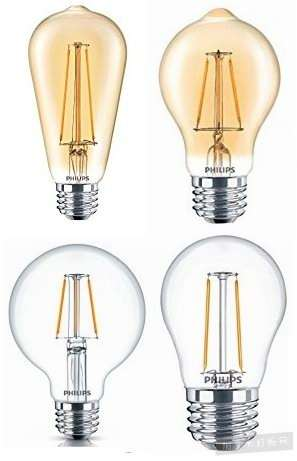 金盒头条:精选8款 Philips 飞利浦 LED 复古节能 爱迪生 灯丝灯7.98加元起特卖!