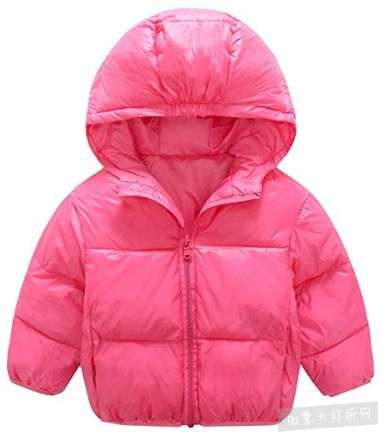 Mengxiaoya 1-6岁 男女儿童时尚连帽防寒服 14.99加元清仓!5色可选!