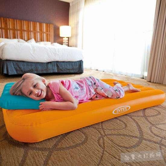 Intex Cozy Kidz 儿童充气床+充气枕3.3折 12.88加元清仓!颜色随机!