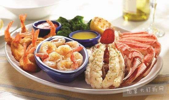 Red Lobster 红龙虾海鲜餐厅 双人晚餐,立省5元!