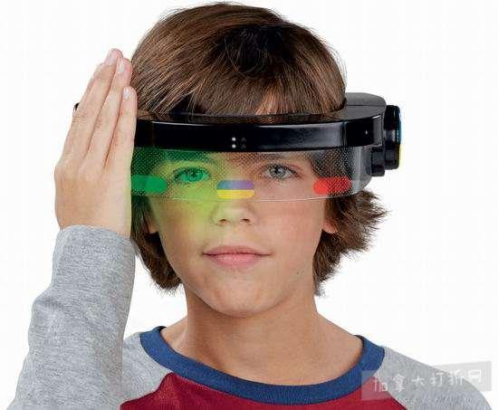 历史新低!Hasbro 孩之宝 Simon Optix 游戏头盔2.6折 10.4加元清仓!