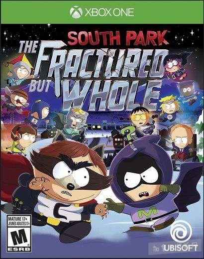 历史新低!《South Park: The Fractured But Whole 南方公园:完整破碎》Xbox One版 视频游戏4.3折 34.44加元!