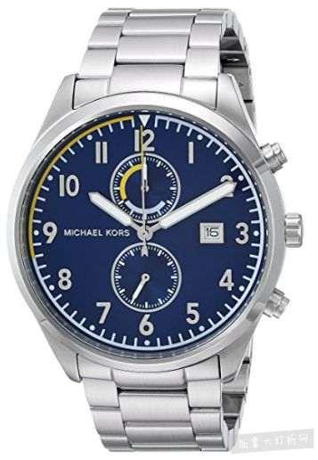 历史新低!Michael Kors MK8574 Saunder 男士时尚腕表4.5折 149.97加元包邮!