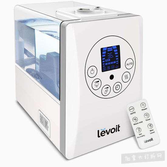 Levoit LV600HH 超声波冷暖雾静音加湿器 84.99加元限量特卖并包邮!