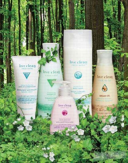 精选45款 Live Clean 成人及婴幼儿 天然有机洗浴产品、润肤露、洗手液等5折起!