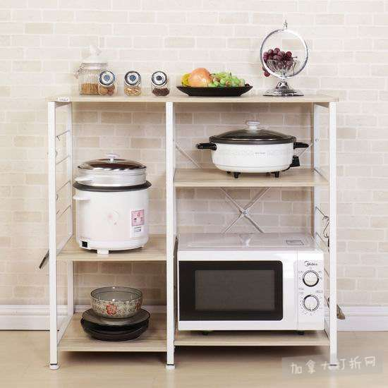 Soges 171 三层式 厨房收纳桌 69加元限量特卖并包邮!2色可选!