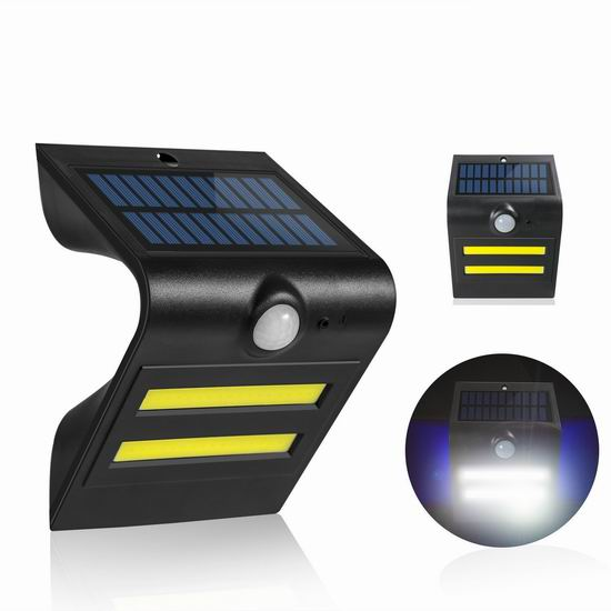 历史新低!Aujeff 32LED 超亮太阳能防水运动感应灯 8.99加元清仓!