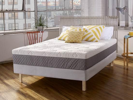 Sleep Innovations Shea 10英寸 Queen/King 记忆海绵床垫4.7折 348.02加元包邮!