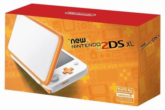 历史新低!新版 New Nintendo 任天堂 2DS XL 橘色掌上游戏机 178.13加元包邮!