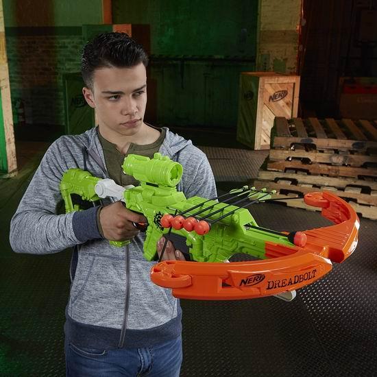历史新低!Nerf Zombie Strike 泡沫海绵玩具飞镖枪2.1折 16.65加元清仓!