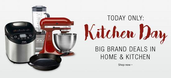 Amazon厨房日!精选大量厨房用品、小家电、厨具、锅具等特价销售!