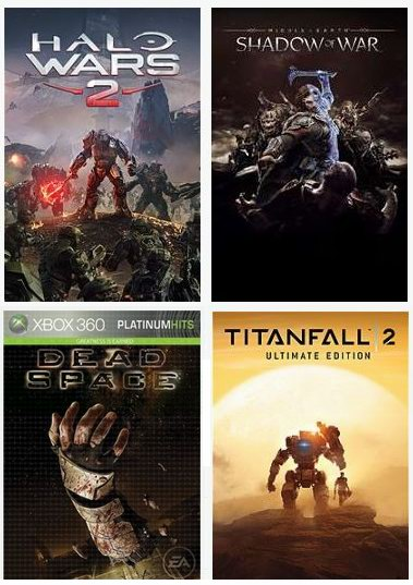 微软 EA Publisher Sale 开售!精选 Xbox One/Xbox 360 视频游戏1.5折起!