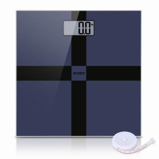 历史新低!INTEY 时尚数字电子体重秤 15.99加元!送卷尺!