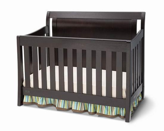 历史新低!Delta Children Madisson 四合一多功能 成长型 婴儿床6.5折 279.99加元包邮!