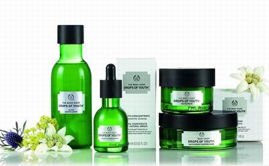 精选5款 The Body Shop 美体小铺 Drops of Youth 植物干细胞活肌系列产品5折起特卖!
